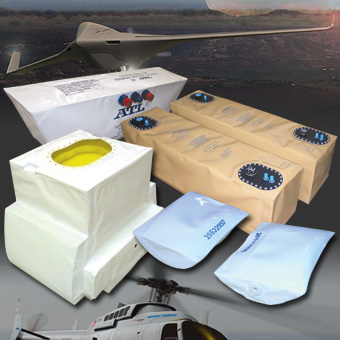 Flexible Fuel Cell Bladder Tanks